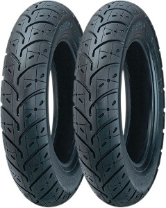 Kenda K329 Scooter Front & Rear Tire Set with Bikemaster Inner Tubes