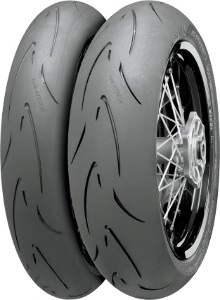 Continental Conti Attack Supermoto Front & Rear Tire Set