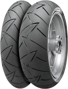 Continental Conti Road Attack 2 Front & Rear Tire Set