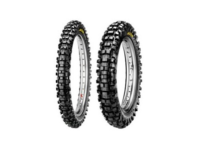 Maxxis M7304D/M7305D Maxxcross Desert IT Front & Rear Tire Set with MSR Heavy-Duty Tubes