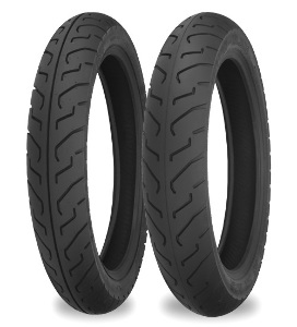 Shinko 712 Front & Rear Tires w/ Tubes & Rim Strips