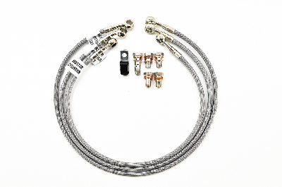 Galfer 2-Line Front & Rear Brake Line Kit
