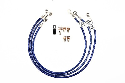 Galfer 2-Line Front and Rear Brake Line Kit