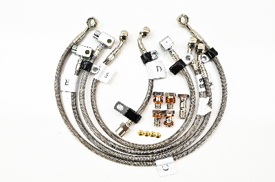 Stainless Steel 5 Line Kit - Front and Rear