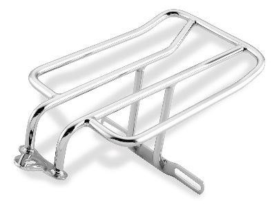 Bikers Choice Black Luggage Rack for 2-Up Seat