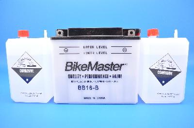 BikeMaster Conventional 12V Battery