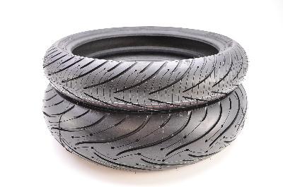 Michelin Pilot Road 3 Front & Rear Tire Set