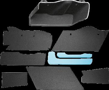 Drag Specialties Saddlebag Lining Kit, Black