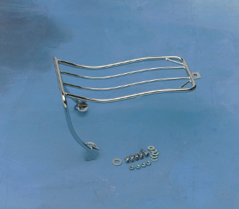 Drag Specialties Fender Luggage Rack, Chrome