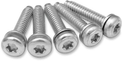 "Drag Specialties 10-24 x 7/8"" Fuel Pump Top Plate Hardware Kit"
