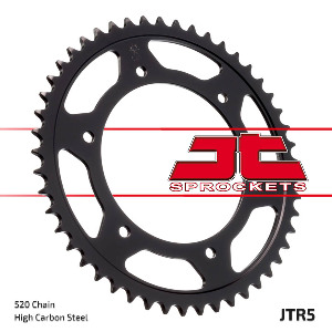 JT Sprocket,s 520 Steel Rear Sprocket, 45T