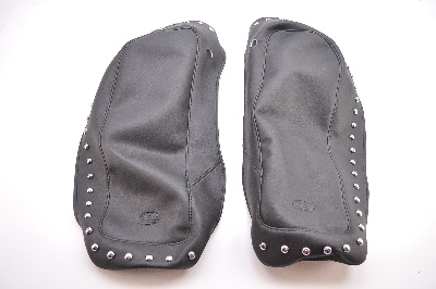 Mustang Studded Saddlebag Lid Covers