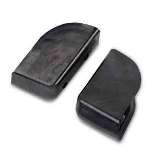 Arlen Ness Angled Saddlebag Block-Off Plate, Right