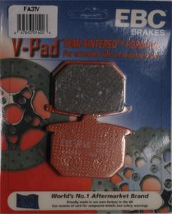 "EBC Semi-Sintered ""V"" Front/Rear Brake Pads"