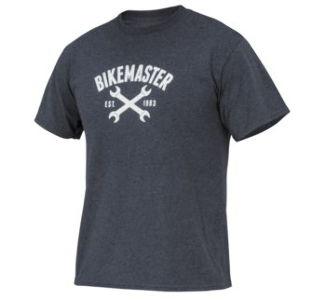 BikeMaster WS Women's Wrench Love Tee, Dark Heather Grey