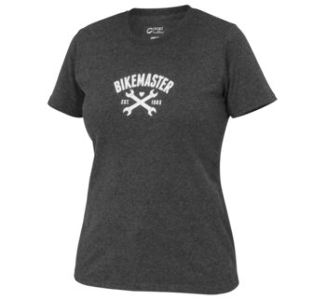 BikeMaster WL Women's Wrench Love Tee, Dark Heather Grey