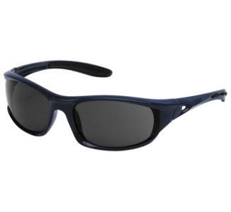 BikeMaster Geko Sunglasses, Navy w/Smoke Lens