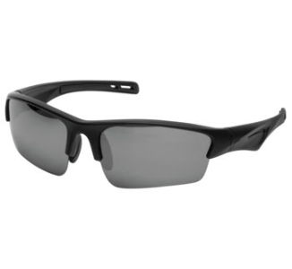 BikeMaster Black w/Smoke Mirror Lens Slicker Sunglasses