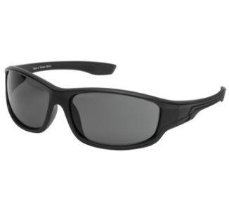 BikeMaster Matte Black w/Smoke Lens Virile Sunglasses