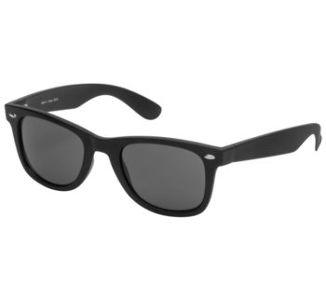 BikeMaster Black w/Smoke Lens Idol Retro Sunglasses