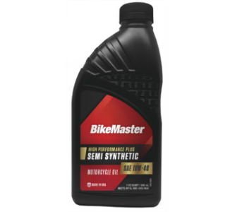 BikeMaster 10W40 Semi-Synthetic Oil, 1 Quart