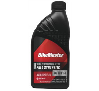 BikeMaster Full-Synthetic Oil, 1qt.