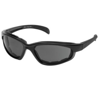 BikeMaster Black w/Smoke Lens Chromester Sunglasses