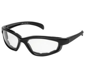 BikeMaster Black w/Clear Lens Chromester Sunglasses