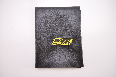 Moose Black Standard Custom Replacement Seat Cover