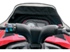 Parts Unlimited Snowmobile Windshield Bag, Black