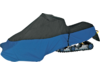 "Parts Unlimited Black/Blue Up To 116"" Snowmobile Total Cover"