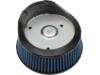 Drag Specialties Premium Reusable Air Filter, Blue