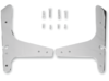 Drag Specialties Square-Bar Side Plate, Chrome
