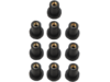 "Drag Specialties 1/4""-20 Bolt OEM Replacement Well Nut, Black"