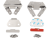 Drag Specialties Saddlebag Mount Bracket/Wear Plate Kit