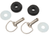 Drag Specialties Saddlebag Bail Head Stud, Grommet and Washer Kit