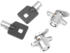 Drag Specialties Saddlebag Lock set w/Keys, Chrome