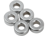 "Drag Specialties 1/4"" x 1/8"" Steel Spacer, Chrome"