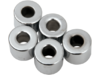 "Drag Specialties 1/4"" x 1/2"" Steel Spacer, Chrome"