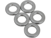 "Drag Specialties 3/8"" x 1/8"" Steel Spacer, Chrome"