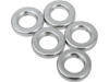 "Drag Specialties 3/8"" x 3/4"" Steel Spacer, Chrome"