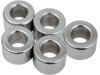 "Drag Specialties 3/8"" x 1/2"" Steel Spacer, Chrome"