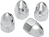 "Drag Specialties 1/4""-28  Acorn Nut, Chrome"