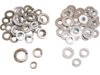 Drag Specialties SAE Flat Washer Kit, Chrome