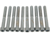 "Drag Specialties 1/4""-20 x 2"" Coarse-Thread Socket-Head Bolt, Chrome"