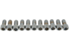 "Drag Specialties 5/16""-18 x 5/8"" Coarse-Thread Socket-Head Bolt, Chrome"