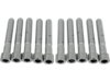 "Drag Specialties 5/16""-18 x 2"" Coarse-Thread Socket-Head Bolt, Chrome"