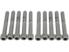 "Drag Specialties 5/16""-18 x 2 1/4"" Coarse-Thread Socket-Head Bolt, Chrome"
