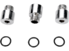 Drag Specialties Oil Pump Socket-Head Plug Bolt Set, Chrome