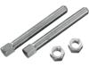 Drag Specialties Rear Chain Adjuster Bolt, Chrome